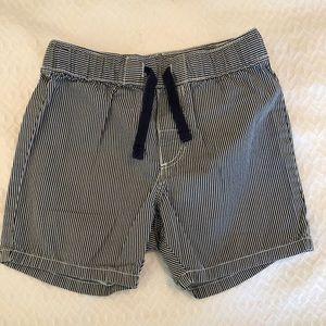 H&M Navy and White drawstring Shorts